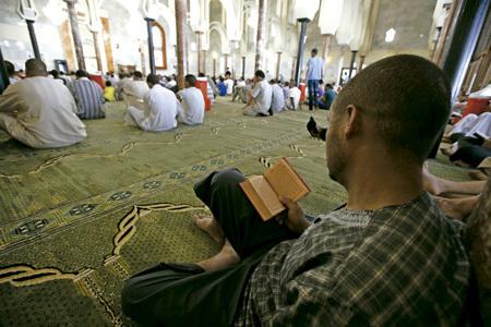 musulmanes en España celebran el Ramadán