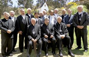 obispos de Bolivia, Chile y Perú, reunión octubre 2013
