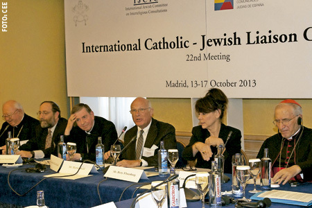 22 reunión del comité de enlace judeo-católico Madrid octubre 2013
