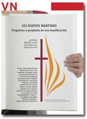 portada del Pliego 522 nuevos mártires, octubre 2013