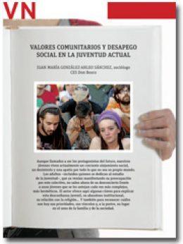 portada del Pliego Valores comunitarios y desapego social en la juventud actual 2867 octubre 2013