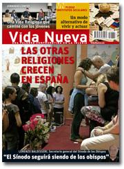 portada Vida Nueva Crecen las otras religiones noviembre 2013 pequeña