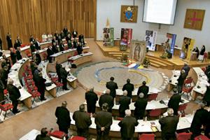 sesión de la Asamblea Plenaria de la Conferencia Episcopal de México noviembre 2013