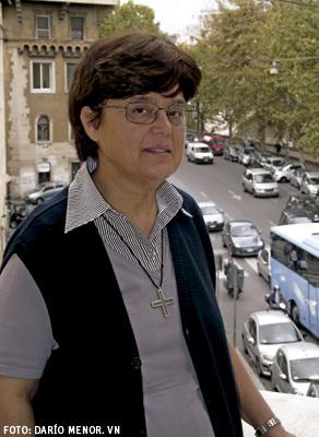 Carmen Sammut, presidenta de la Unión Internacional de Superioras Generales UISG