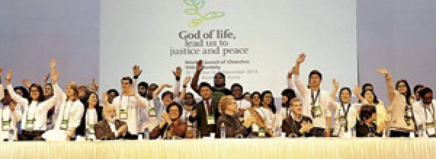 cristianos en la 10 Asamblea del Consejo Mundial de Iglesias 2013