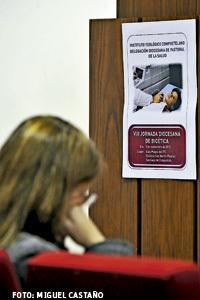 VIII Jornada sobre Bioética en Santiago de Compostela noviembre 2013. Foto de Miguel Castaño