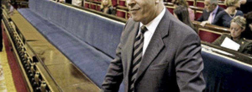 José Ignacio Wert, ministro de Educación, en el Senado