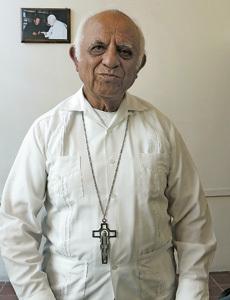 Miguel Patiño, obispo de Apatzingán, Michoacán México