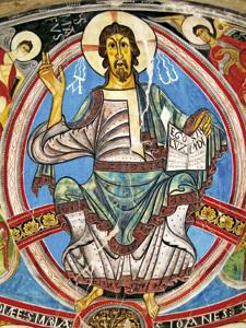 Pantocrátor en la iglesia de San Clemente de Tahull, Lleida