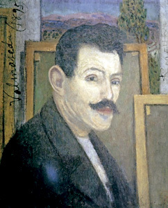 autorretrato de Darío de Regoyos