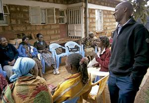 centro católico de apoyo a enfermos de sida en Kenia