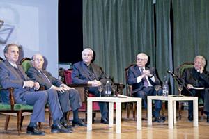 homenaje en Madrid al nuncio Faustino Sainz en el primer aniversario de su muerte