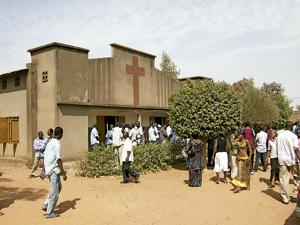 iglesia en Burkina Faso