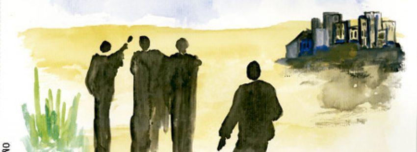 ilustración de José María Avendaño para el Pliego del Adviento 2013