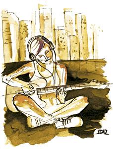 ilustración de Jaime Diz para el artículo Culturas juveniles, cardenal Ravasi, 2872