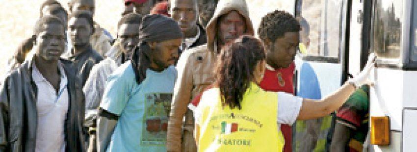 inmigrantes africanos