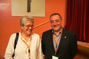 María Rosario Ríos y Luis Ángel de las Heras, nueva vicepresidenta y nuevo presidente de CONFER