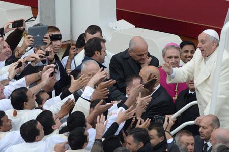 papa Francisco en la clausura del Año de la fe 24 noviembre 2013