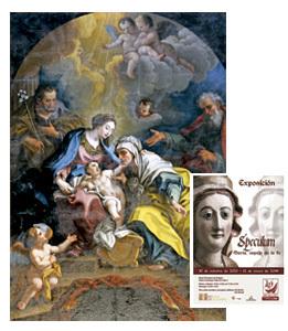 exposición Speculum en Zaragoza, en el Año de la fe