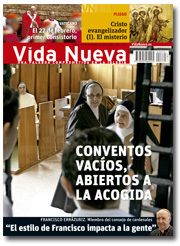portada Vida Nueva Conventos vacíos noviembre 2013 pequeña