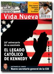portada Vida Nueva El legado católico de Kennedy noviembre 2013 2872 pequeña