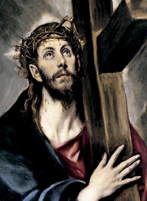 Cristo abrazado a la cruz, cuadro de El Greco