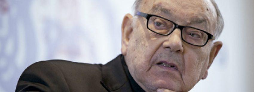 Fernando Sebastián, cardenal arzobispo emérito de Pamplona y de Tudela