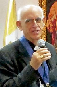 Fortunato Pablo, nuevo secretario de la Conferencia Episcopal de Perú enero 2014