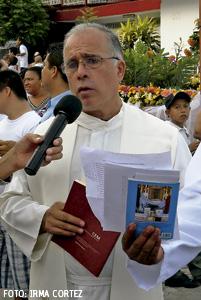 Javier Cortés Ochoa, vicario general de Apatzingán, Michoacán, México