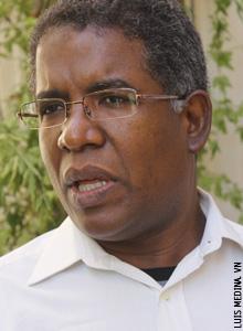 Mario Serrano, jesuita, director nacional del Sector Social de la Compañía de Jesús y coordinador Pastoral Haitiana en la Conferencia Episcopal Dominicana