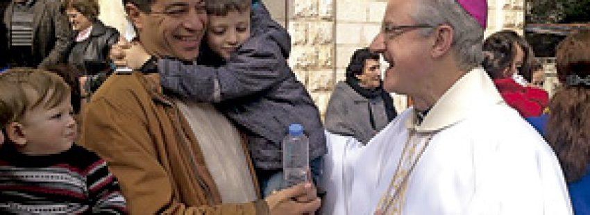 arzobispo de Urgell Joan Enric Vives visita Tierra Santa enero 2014