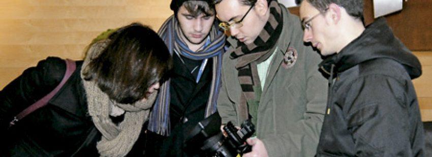 Alumnos del Máster en Periodismo Social de la Fundación Crónica Blanca