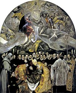 El entierro del conde de Orgaz, cuadro de El Greco