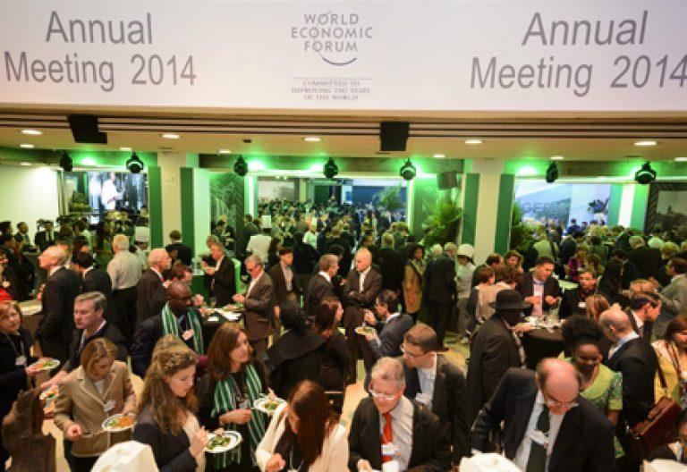 reunión del Foro Económico de Davos en Suiza 2014