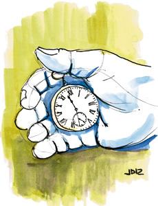 ilustración de Jaime Diz para el artículo de Fernando García de Cortázar 2879