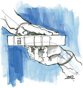ilustración de Jaime Diz para el artículo de Francisco Vázquez 2880