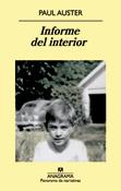 Informe del interior, Paul Auster, Anagrama