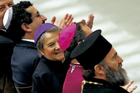 líderes de varias confesiones cristianas