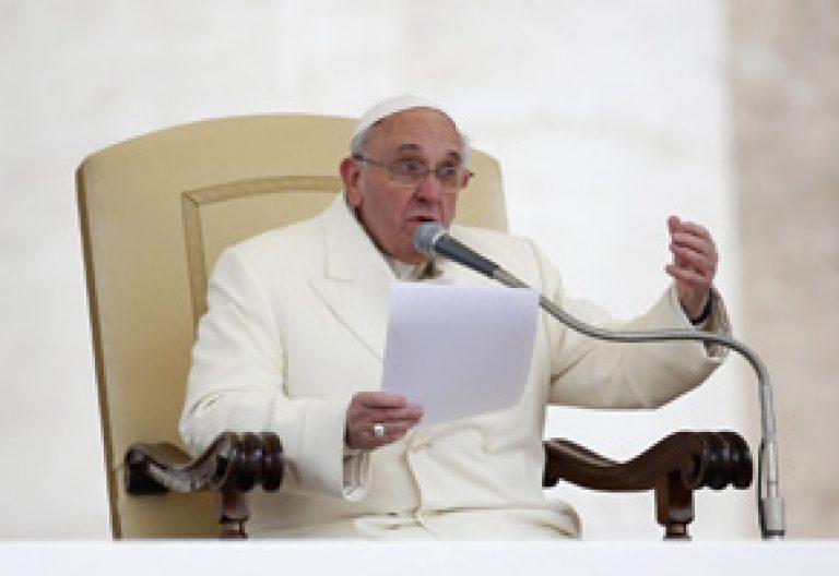 discurso del papa Francisco durante la audiencia general del miércoles 29 enero 2014