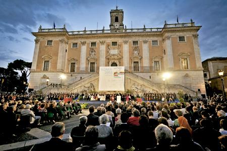 encuentro internacional interreligioso de oración por la paz organizado por la Comunidad de Sant'Egidio Roma 2013
