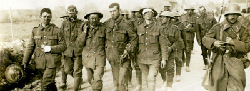 soldados en la Primera Guerra Mundial
