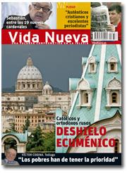 portada Vida Nueva Deshielo ecuménico 2878 enero 2014 pequeña