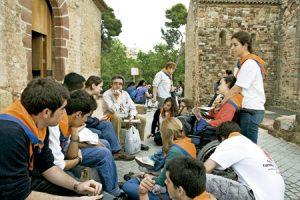 Aplec de l'Esperit 2010, jóvenes en pastoral juvenil en Catalunya