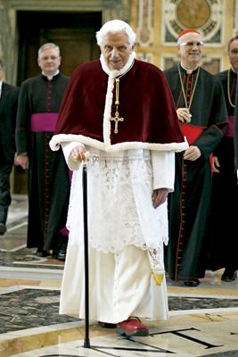 Benedicto XVI en su última audiencia general como papa 27 febrero 2013