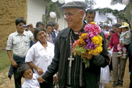 Fortunato Pablo, obispo español de Chota, Perú, y secretario de la Conferencia Episcopal Peruana