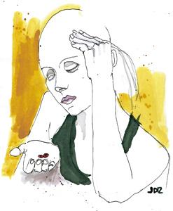 ilustración de Jaime Diz para el artículo de Fernando García de Cortázar 2883