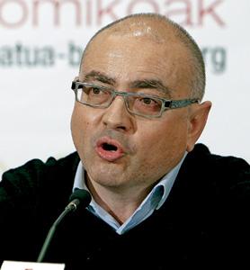 Javier Madrazo, expresidente y ex coordinador general de Ezker Batua-Berdeak
