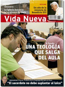 portada Vida Nueva Una teología que salga del aula 2882 febrero 2014 Grande
