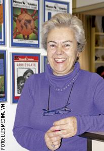 Soledad Suárez, presidenta de Manos Unidas