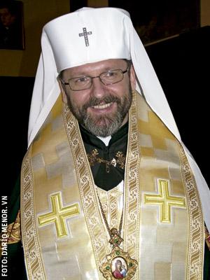 Sviatoslav Shevchuk, arzobispo mayor de los greco-católicos de Ucrania